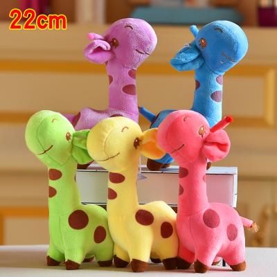印花小鹿-布娃娃小玩偶送小孩女生女友礼物毛绒玩具